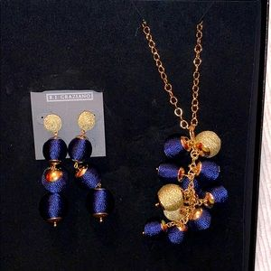 2/$25 R.J. Graziano earring and necklace set